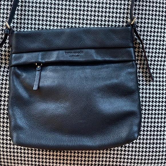 kate spade Handbags - Kate Spade black leather crossbody